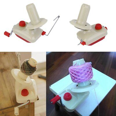 Portable Hand-Operated Yarn Winder Wool String Thread Skein Machine Tool S6