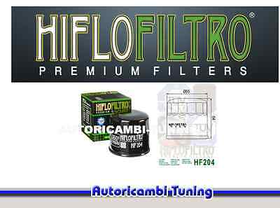 OIL FILTER MOTORRAD HF204 HIFLO Mv agusta Brutale RR - 1078 cc - years: 2009