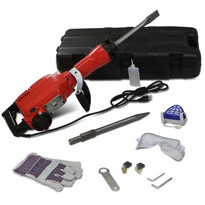 HD 2200 Watt Electric Demolition Hammer Concrete Breaker Punch Chisel Bit OY
