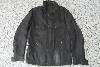 mens belstaff gold label lined jacket L