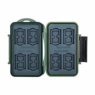 Flashwoife Turtle-SD8MSD16G - survival edition - Estuche para tarjetas de memor