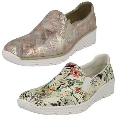 WOMENS RIEKER CASUAL Flat Slip On Shoes 58766
