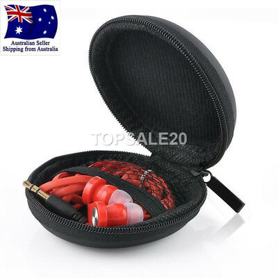 Carry Hard Case Pouch Storage Bag For Headphone Earphone Earbud
