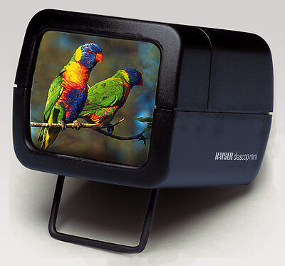 Kaiser Diascop MINI 3 SLIDE VIEWER for 35MM / 5X5 SLIDES