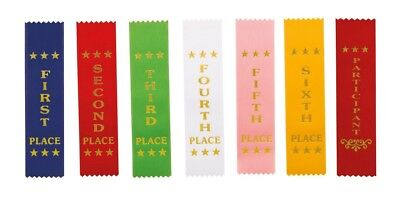 Competition Ribbons Horse Equestrian Dog Show Achievements 1st - 6th Place