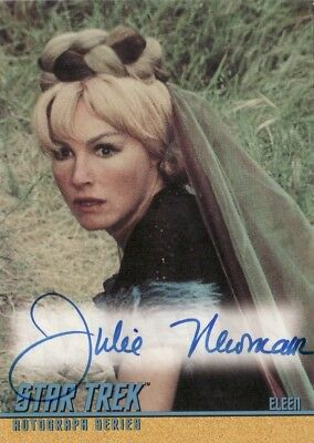 Star Trek ToS Quotable Julie Newmar as Eleen A99 Auto Card