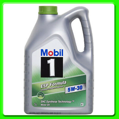 Mobil 1 ESP Formula 5W-30 Fully Synthetic Engine Oil [153598] 5 Litres