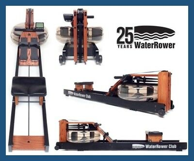WaterRower CLUB Series Water Resistance Rower - Made in USA - new 2018 Model