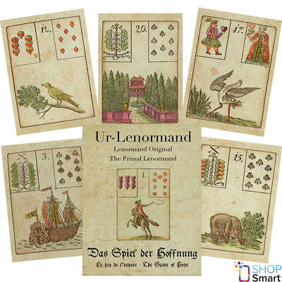 Primal Lenormand – The Game Of Hope Oracle Cards Deck Telling Astrology Agm New