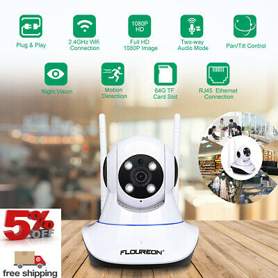 4CH 5IN1 AHD 1080N DVR CCTV Home Security 1500TVL 720P IP Camera System Kit IP66