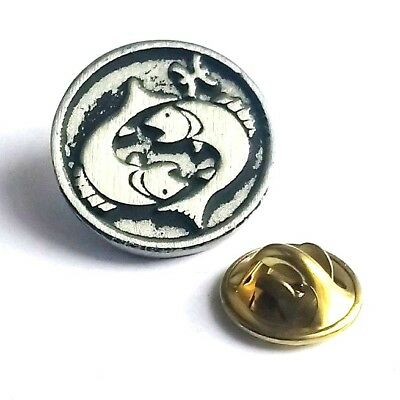 Leo Star Sign Handcrafted English Pewter Lapel Pin Badge Last Few