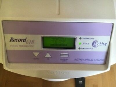 Active Optical Systems IPL Hair Removal System - Record - 618 - Classic