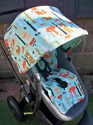 Bugaboo Cameleon 1 / 2 / 3 Custom made hood and seat liner NEW waterproof lining