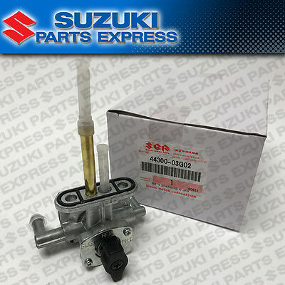 2002 - 2007 Suzuki Vinson 500 Lt-F Lt-A Fuel Petcock On Off Valve 44300-03G02