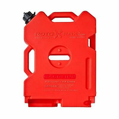 2 Gallon Fuel Pack Spare Container Off Road ATV Pack Rotopax Jerry Can