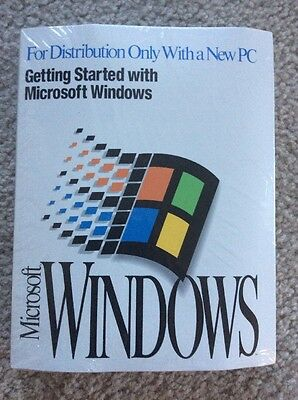 Microsoft Windows 3.1 User's Guide & Disks NEW SEALED