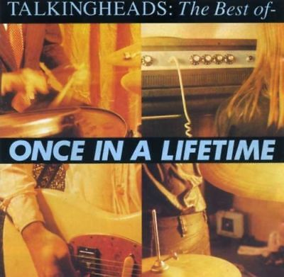 Talking Heads The Best Of Once In A Lifetime CD 1992 Brian Eno And She Was Live