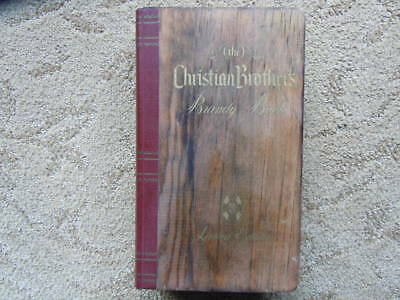 """RARE Vintage 1982 Christian Brothers  Brandy """"Book"""" Complete With Bottles"""