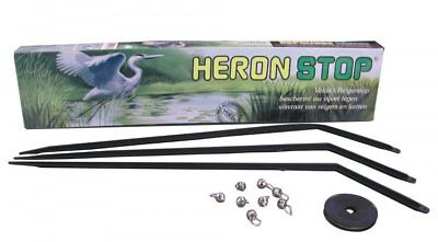 Heron Stop, Prevents Herons from Entering your Pond without Blocking your View