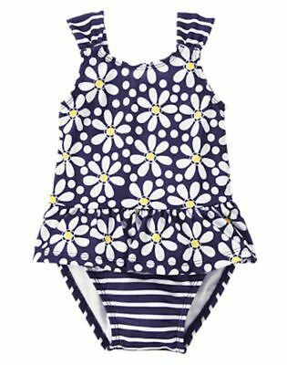 NWT Gymboree Swimsuit Flower Shower Daisy 6 12 18mo 2T 3T 4T Toddler Baby
