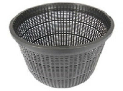 """8"""" Round Koi Pond Plant Basket  x  2 pcs Value Pack Micro Holes for Waterflow"""