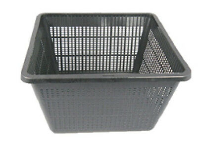 """9"""" Square Pond Plant Basket x 2pcs Micro Holes for great Waterflow - Great Value"""