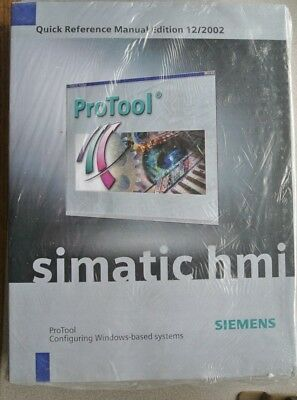 Siemens 6Av6594-1Ma06-1Ab0 Simatic Hmi Protool Configuring Windows-Based Systems