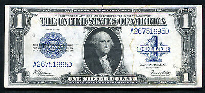 """Fr. 237 1923 $1 One Dollar """"Horseblanket"""" Silver Certificate About Unc"""