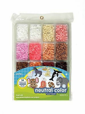 Perler Tray Fused Beads Neutral Colour