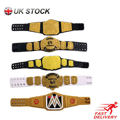 UK WWE Belt World Heavy Weight Championship Toy Wrestler Figuer Accessories Gift