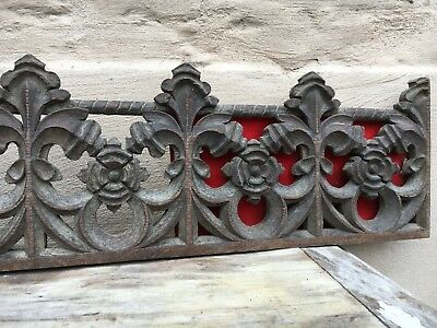 A Stunning Gothic Church Tracery Carved in wood circa 1880