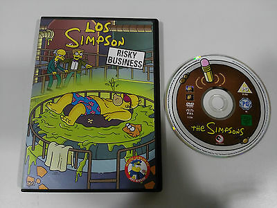 The Simpsons Risky Business Dvd + Extras 4 Chapters Spanish English Region 2
