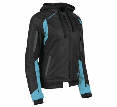 Speed & Strength Women's Spell Bound Textile Jacket Size XS Teal/Black