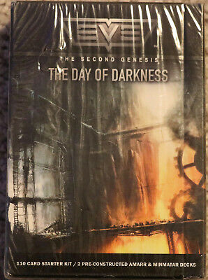 EVE Day Of Darkness Card Game Second Genesis Sealed 110 Card Starter Kit