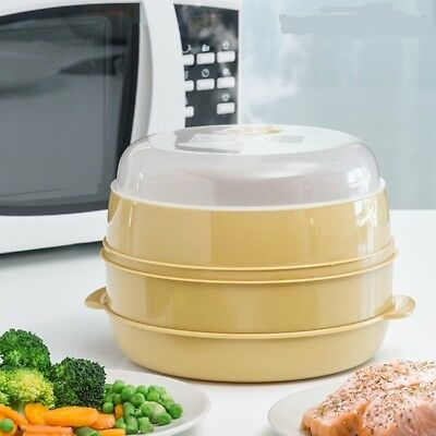 Microwave Double Steamer