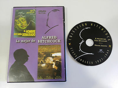 Alfred Hitchcock The Man Who Knew Too Much + Posada Jamaica Dvd Region 0 All