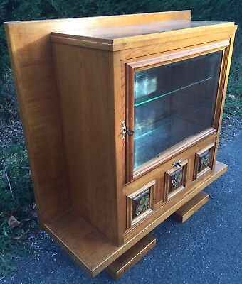 Albert Guenot Furniture Silver Cabinet Art Deco 40 Showcase Design Modernist