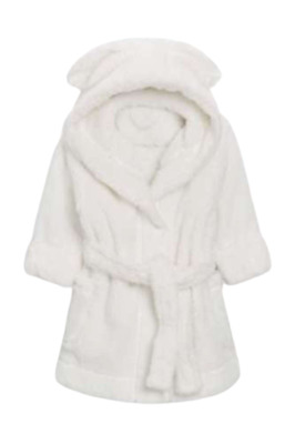 NEXT Girls Dressing Gown Robe Bunny Cat Sparkle 1.5-2 3-4 4-5 5-6 Xmas Gift BNWT