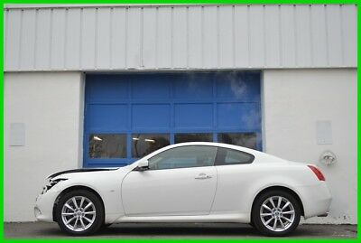 2014 Infiniti Q60  Repairable Rebuildable Salvage Lot Drives Great Project Builder Fixer Easy Fix
