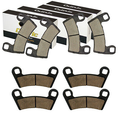 FRONT and REAR BRAKE PADS FIT Polaris RZR 900 TRAIL XC EDITION EPS 2015-2017