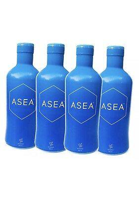 4 x32 oz ASEA REDOX  WATER -Factory Sealed Stock