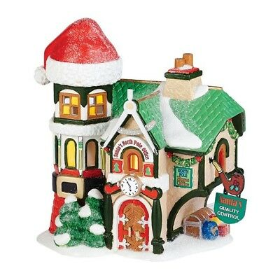 DEPARTMENT 56 NEW North Pole Series Toy Land, Santa's North Pole Office 4036540