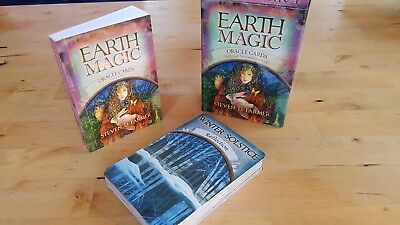 Earth Magic by Steven D. Farmer (2010, Cards,Flash Cards)