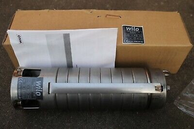 Wilo Submersible Well Pump 6034876 Stainless Steel TWI04.18-07.07 PEO M4 .75HP