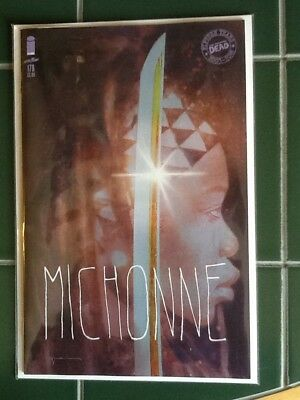 "The Walking Dead Issue #176 Variant Cover ""Michonne"" Image Comics Sienkiewicz"
