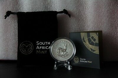 2017 1oz Silver Krugerrand 50th Anniversary Bullion Coin - First Year Release