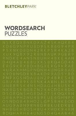 Bletchley Park Puzzles Wordsearch  BOOK NEW