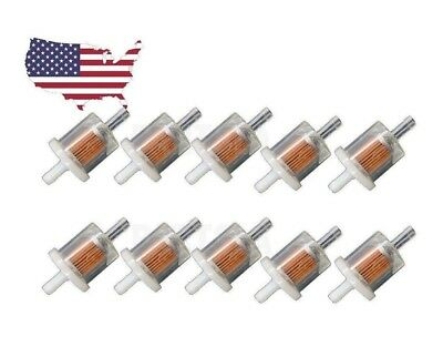 Fuel Filter Briggs & Stratton 493629 691035 Fuel Filter Lawnmower x10 Pack