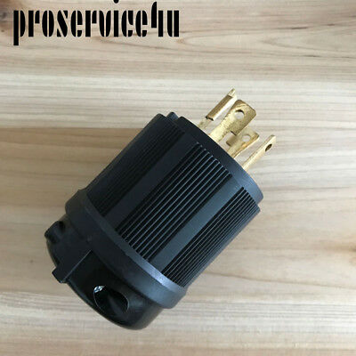 L1430P Locking Generator Plug 30A 125 250V L14-30P 30 AMP125 UL Approval Safety