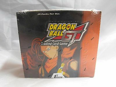 (1st edition) DRAGONBALL GT TCG SUPER 17 SAGA SEALED BOOSTER BOX OF 24 PACKS
